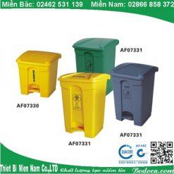 Thùng đựng rác nhựa 30lít đạp chân