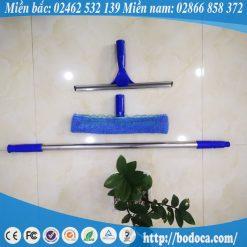 Bộ vệ sinh kính inox 3m Bodoca